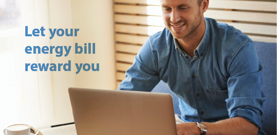Let your energy bill reward you